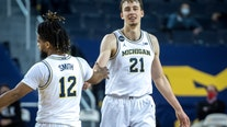 No. 7 Michigan back on track after 87-63 rout of Maryland