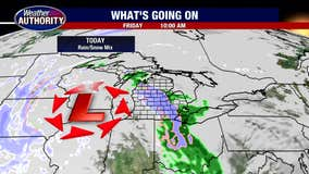 Rain & Snow Mix Friday