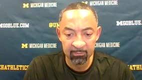 WATCH - Juwan Howard on Michigan's win over Maryland
