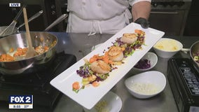 Andiamo's Chef Jim Opat cooks up winter sea scallops