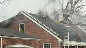 Two dead in Detroit house fire