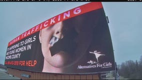 Alternatives for Girls new billboards meant to shock and inform about human trafficking