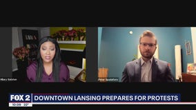 Peter Spadafore talks preparation for potential Capitol protest in Lansing