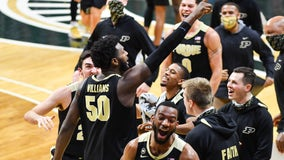 Williams-led Purdue rallies to beat No. 23 Michigan St 55-54