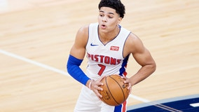 Pistons say rookie G Killian Hayes has torn hip labrum
