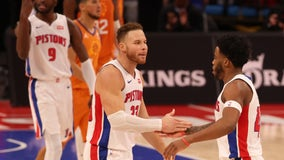 Jerami Grant helps Pistons rally to beat Suns in OT