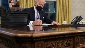 Biden bets big on immigration, signing six executive orders dealing with travel bans, border walls
