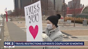 Travel restrictions between the U.S. and Canada separate couple for 10 months