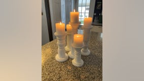 Recycling scrap furniture into unique candleholders