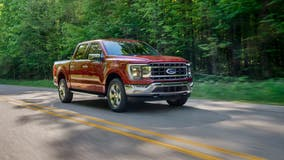 Ford posts surprise $561 million quarterly profit, buoyed by 120,000 orders for electric F-150