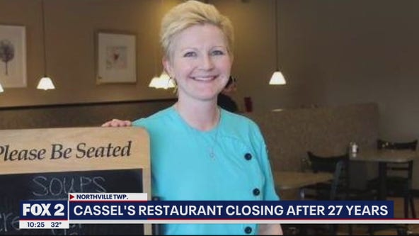 Cassel's Restaurant in Northville closing after 27 years, restaurant owner looking for work