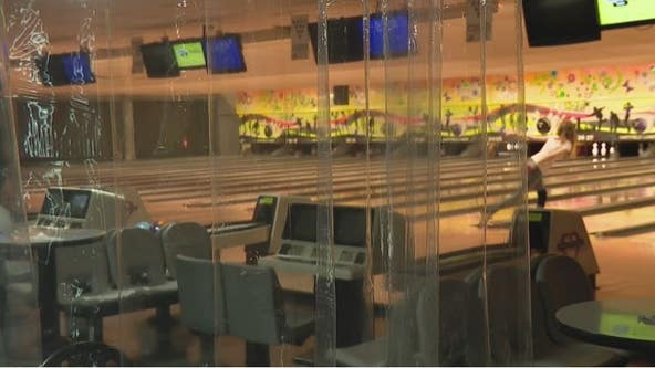 Small group of bowling alleys sue state over indoor dining restrictions