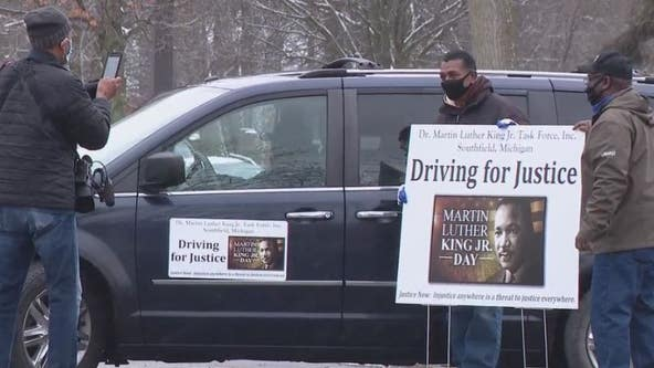 Southfield honor Martin Luther King with drive for justice parade