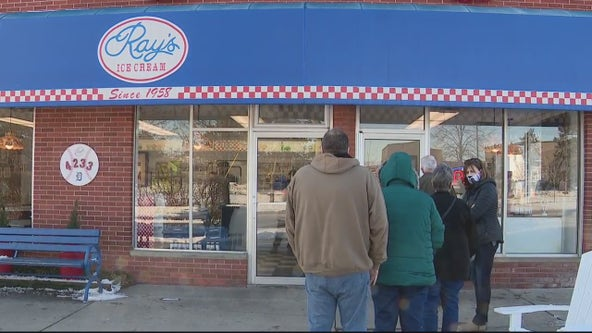 Ray's Ice Cream in Royal Oak raises $50K, has line down the street