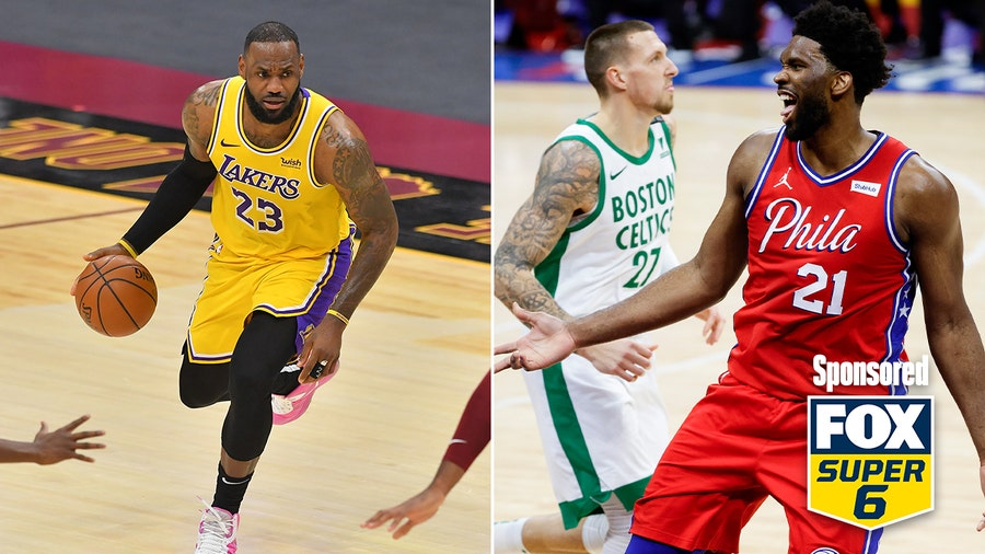 FOX Super 6 can win you $25K on the NBA's Wednesday night
