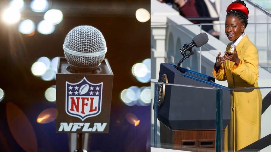 Inaugural poet Amanda Gorman to recite poem about COVID-19 'community heroes' at Super Bowl LV