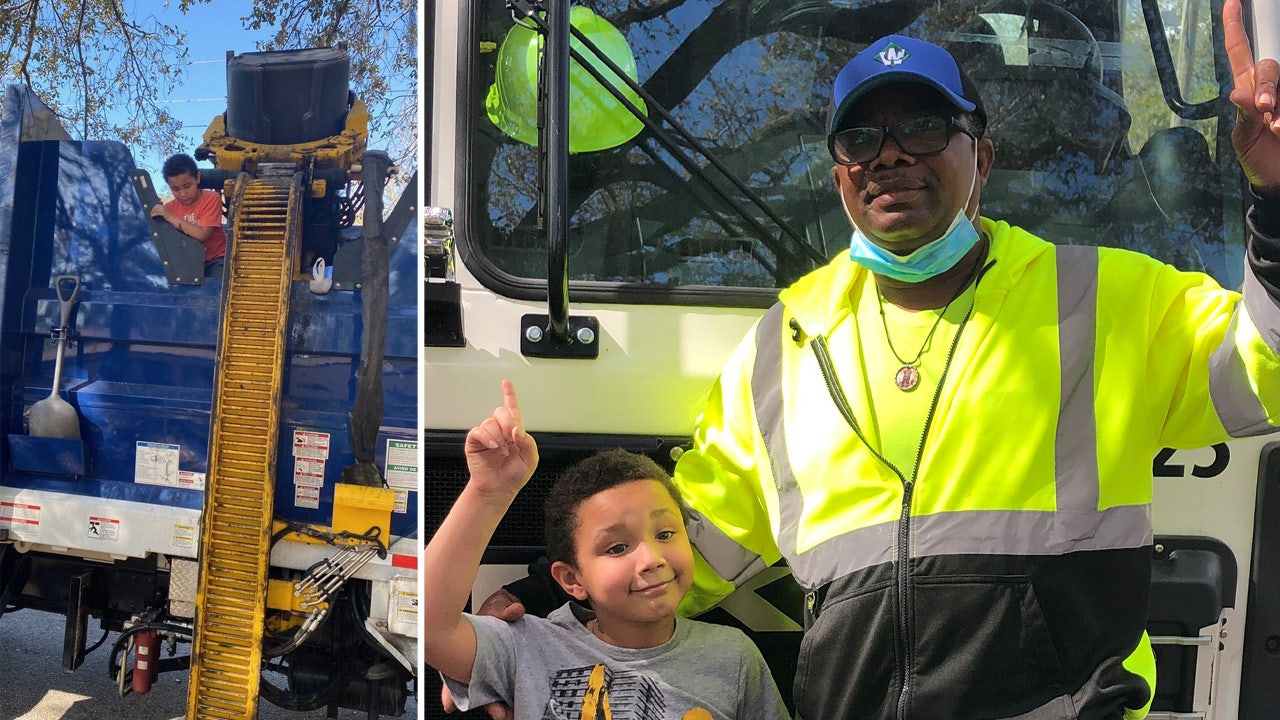 Sanitation worker saves life of boy who hid in trash can, got tossed into garbage truck