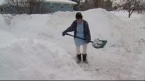 Shoveling snow is more dangerous if you've had COVID-19, says doctor