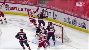 Red Wings hold off Panthers 2-1 after Brome's 1st NHL goal
