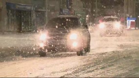Snow moves out, cold winds settling into southeast Michigan