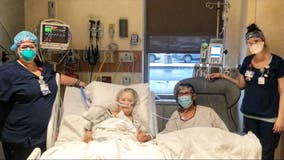 Illinois couple fighting coronavirus treated to 'dinner date' by hospital staff: 'Always inseparable'