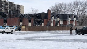 Eight hospitalized in massive apartment fire in Mt Clemens