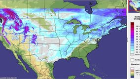 Nearly three-quarters of contiguous US covered in snow amid polar vortex