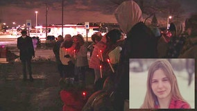 Vigil for community mourning 13-year-old killed by suspected drunk driver in Taylor