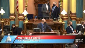 Michigan GOP leader Shirkey on hot mic doubles down after Capitol riot hoax claim