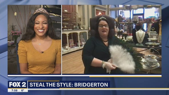 The Peacock Room shows off jewels and gowns from Netflix hit show Bridgerton