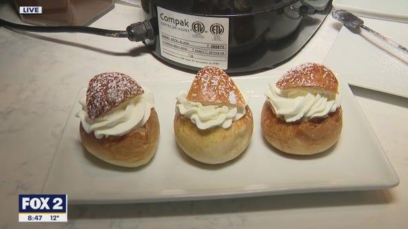 Semlor: Traditional Swedish Fat Tuesday Buns
