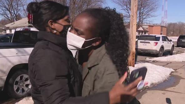 Mother of 4 wrongfully evicted by Detroit police gets new house as community rallies around her