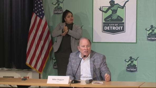 Detroit Mayor Duggan says COVID-19 vaccines will soon be available for children 12 and older