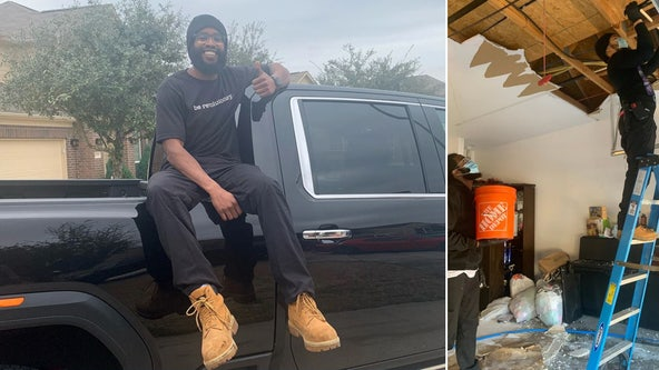 NJ plumber drives 22 hours to help Texas storm victims