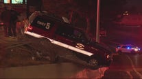 Detroit Fire Chief suspected drunk while driving, crashes DFD car