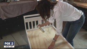 Rehabbing a Toddler Bed Rescued and Recovered on Trash Day