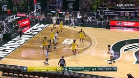 WATCH - Woody Woodriffe has a report on the Spartans as they get set for the Big 10 Tournament on Thursday