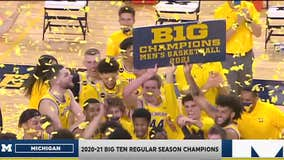 WATCH - Jennifer Hammond with a report on the Michigan Wolverines as they claim a #1 seed in the NCAA Tournament