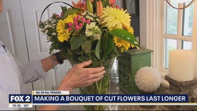 How to Make a Bouquet of Cut Flowers Last Longer