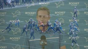 WATCH - Jennifer Hammond reports from Allen Park where the Lions introduced new quarterback, Jared Goff