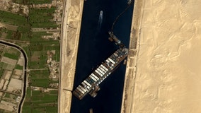 Massive container ship stuck in Suez Canal set free, canal service provider says