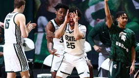 Michigan State boosts NCAA hopes with 64-58 win over Indiana