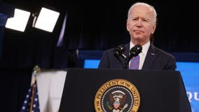 Biden doubles COVID-19 vaccination goal, addresses border crisis in 1st White House press conference