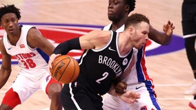 Harden, Griffin help Nets hold off Pistons 113-111