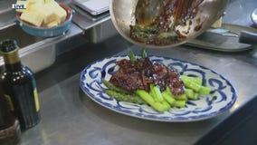 San Morello's in Detroit shows us how to whip an Asparagus Saltimbocca for Easter