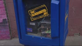 Free Blockbuster box in Detroit lets you give a movie and take one