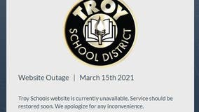 Troy school district website hacked with hate speech, graffiti