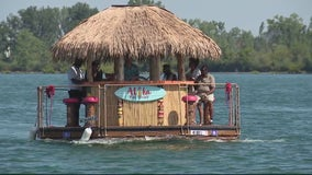 Waterfront Wyandotte: Detroit River tiki boat voyages expand to Downriver