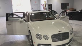 Brand new Bentley stolen from rental business, caught on camera