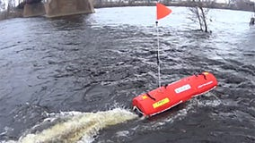 Meet EMILY, MDOT's remote-controlled boat that inspects bridge damage